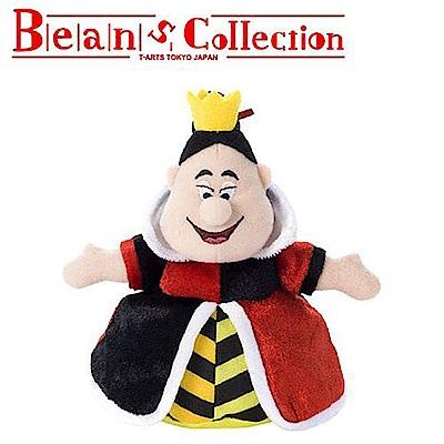 日本正版 紅心皇后 愛麗絲夢遊仙境 迪士尼 豆豆絨毛玩偶 拍照玩偶 234354