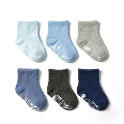 Baby童衣 兒童襪子六雙組 素面多色童襪 88716