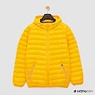 Hang Ten - 男裝 - ThermoContro-輕巧收納羽絨外套 - 黃