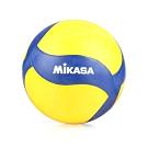 MIKASA 螺旋形橡膠排球 黃深藍白
