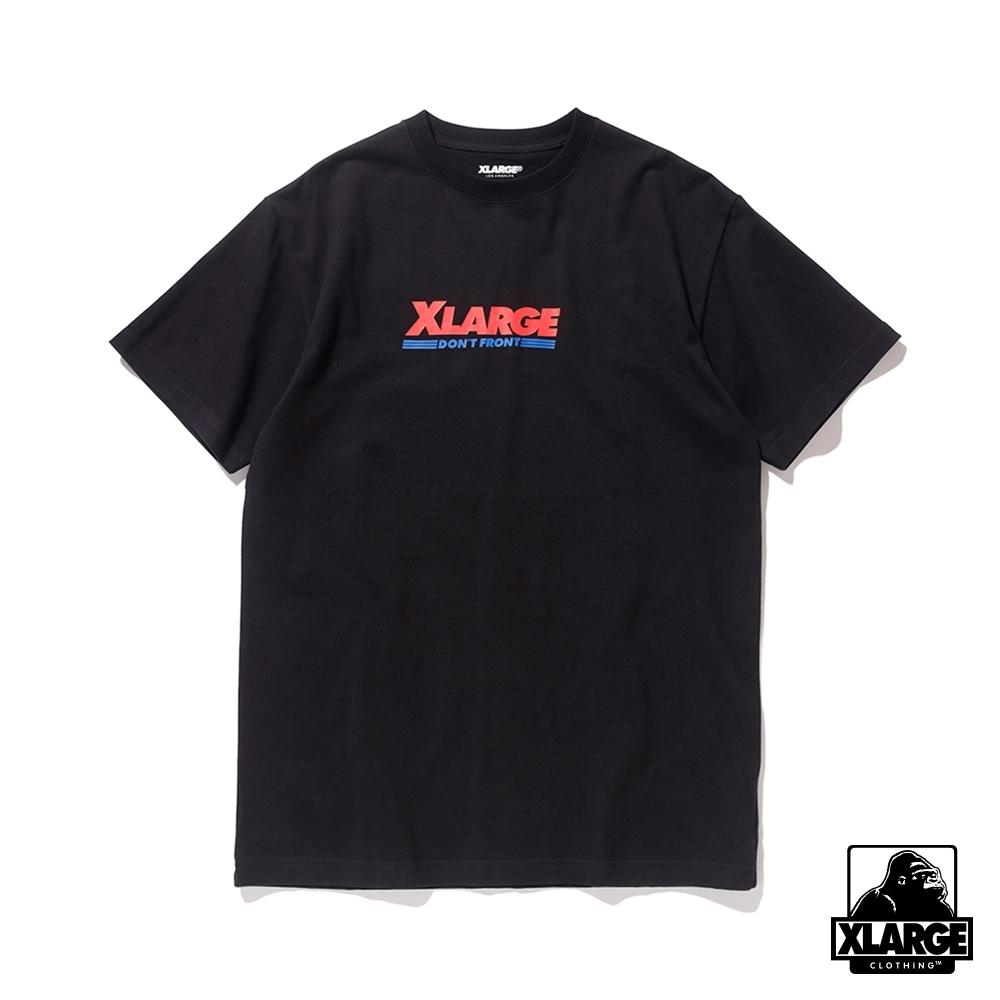 XLARGE S/S TEE WAREHOUSE 短袖T恤-黑