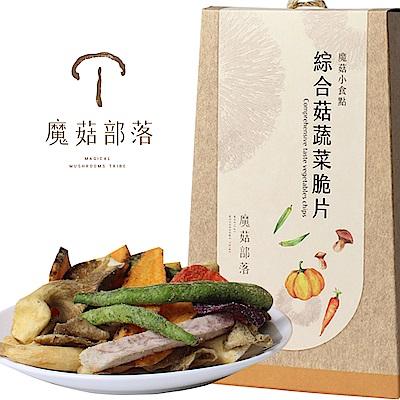 魔菇部落 魔菇小食點-綜合菇蔬菜脆片(90g)