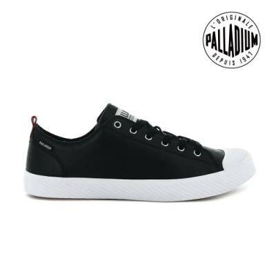 PALLADIUM PALLAPHOENIX LOW LTH皮革鞋-中性款-黑 / 白