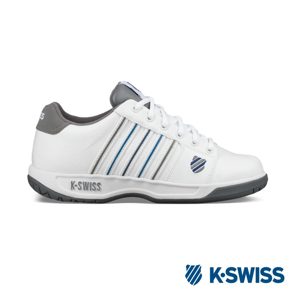 K-SWISS Eadall休閒運動鞋-男-白/灰