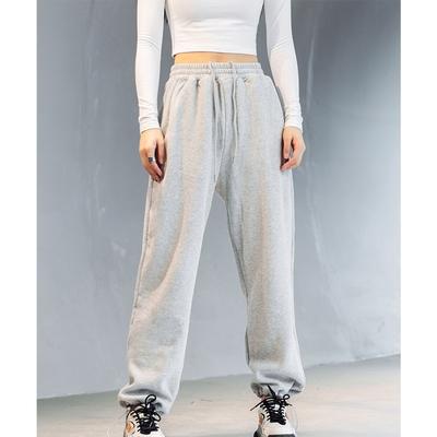 設計所在Style-秋冬加絨保暖寬鬆瑜伽運動休閒褲