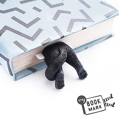 烏克蘭myBookmark-肉球腳丫小黑貓書籤
