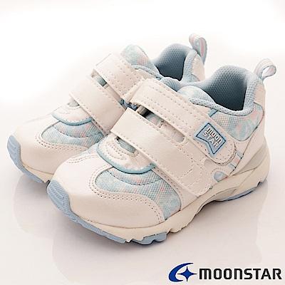 日本月星頂級童鞋 機能抗菌款 TW1691白(中小童段)