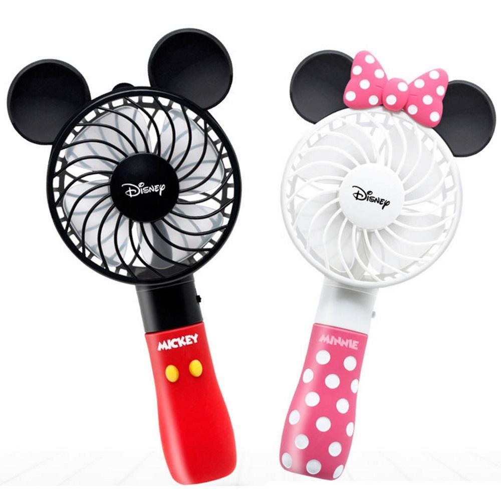 迪士尼 米奇米妮手持電風扇