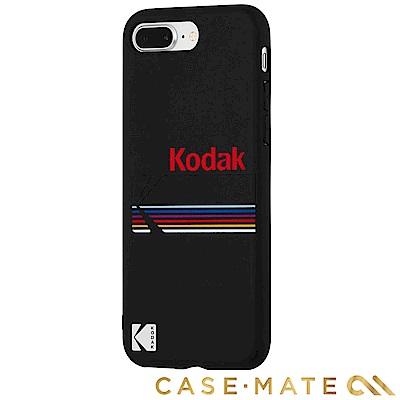 美國 CASE●MATE iPhone 8+/7+ Kodak柯達聯名款強悍防摔殼-霧黑