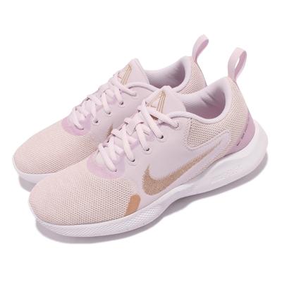 Nike 慢跑鞋 Flex Experience RN 女鞋 輕量透氣 舒適避震 後跟拉環易穿脫 粉紫 白 CI9964-600