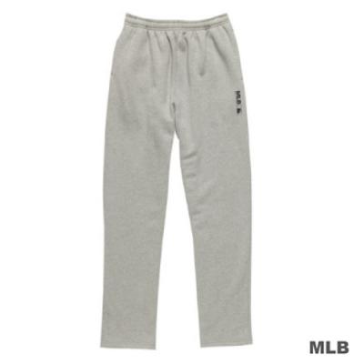 MLB-美國職棒大聯盟平口印花厚長褲(麻灰)