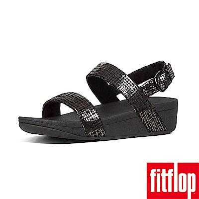 FitFlop CHAIN PRINT後帶涼鞋黑色