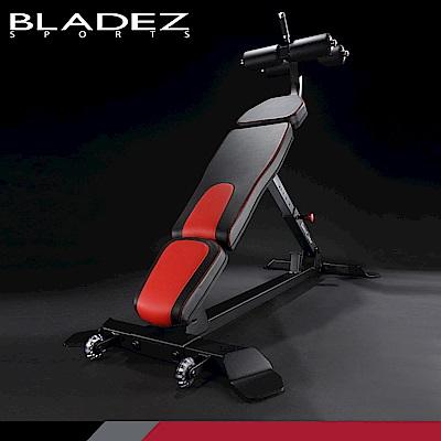 【BLADEZ】F2704 可調式下斜腹肌重量訓練椅