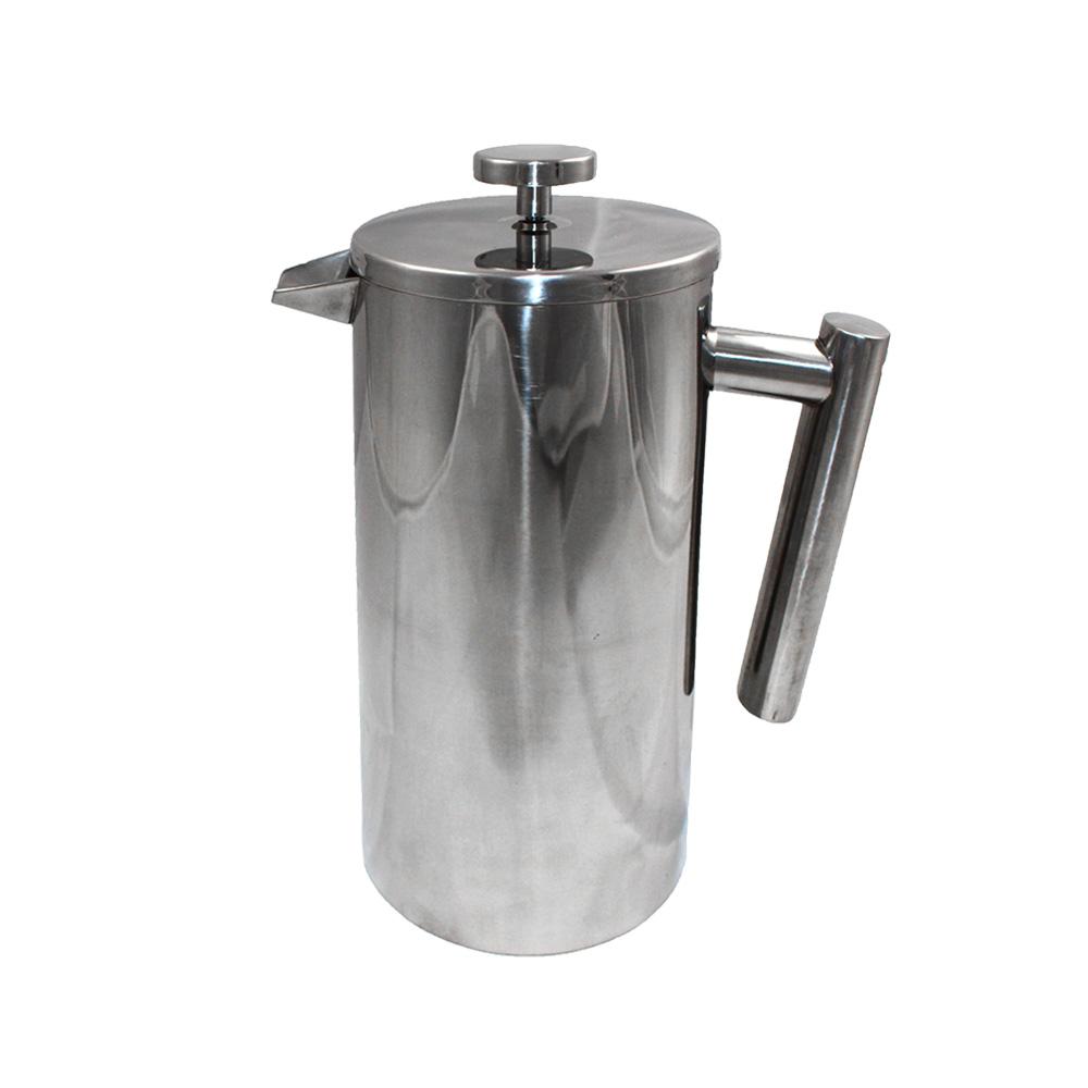 COMET 不鏽鋼咖啡濾壓壺1000ml(FO-03)