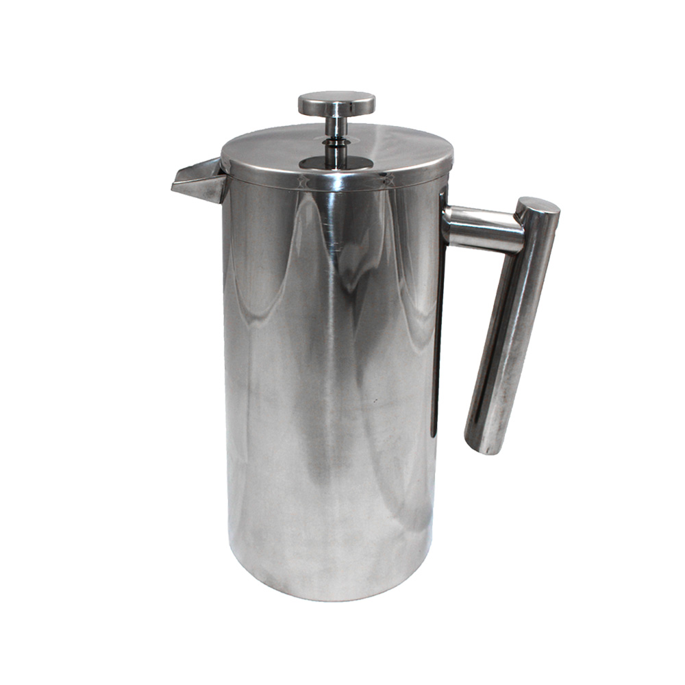 COMET 不鏽鋼咖啡濾壓壺1000ml(FO-03)-快