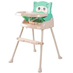 酷貝比Cuibaby 好奇貓4合1兒童用高腳椅/餐椅 (3色可選)