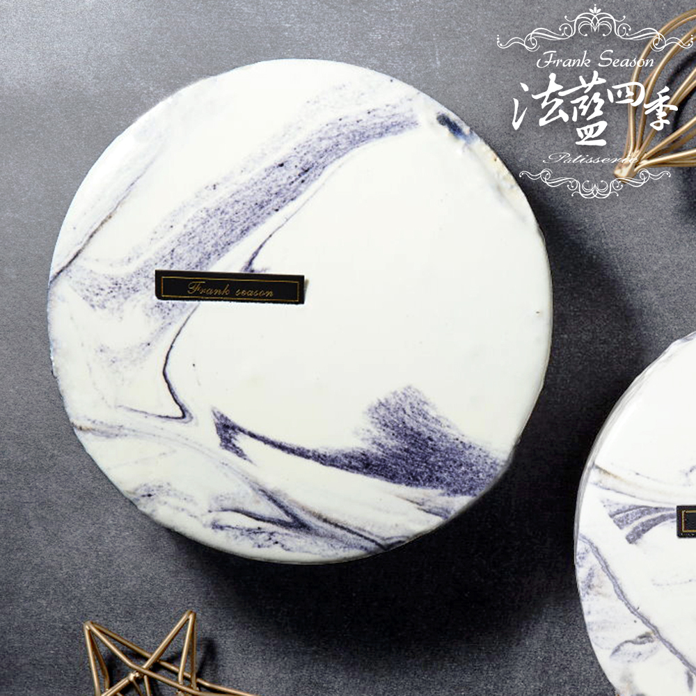 法藍四季 大理石鏡面蛋糕(約6吋)