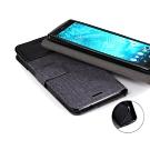 PKG for:Sony XZ2 側翻式皮套-國際雙拚-黑