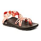 美國Chaco女越野舒壓運動涼鞋雙織夾腳款CH-ZLW04HF13(愛吃水蜜桃)