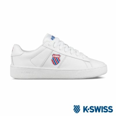 K-SWISS Court Casal休閒運動鞋-男-白