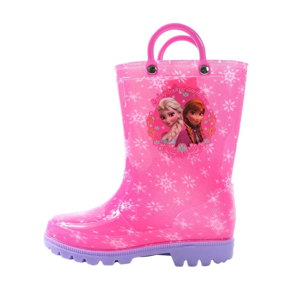 女童迪士尼冰雪奇緣長筒雨鞋 sa94603 魔法Baby