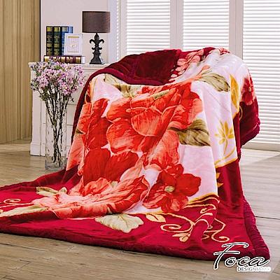 FOCA敘心弦  頂極日本2D拉舍爾超細纖維雙層保暖舒毯(大尺寸175x225cm)