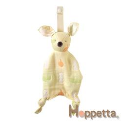Hoppetta 六層紗動物安撫巾(波爾卡)