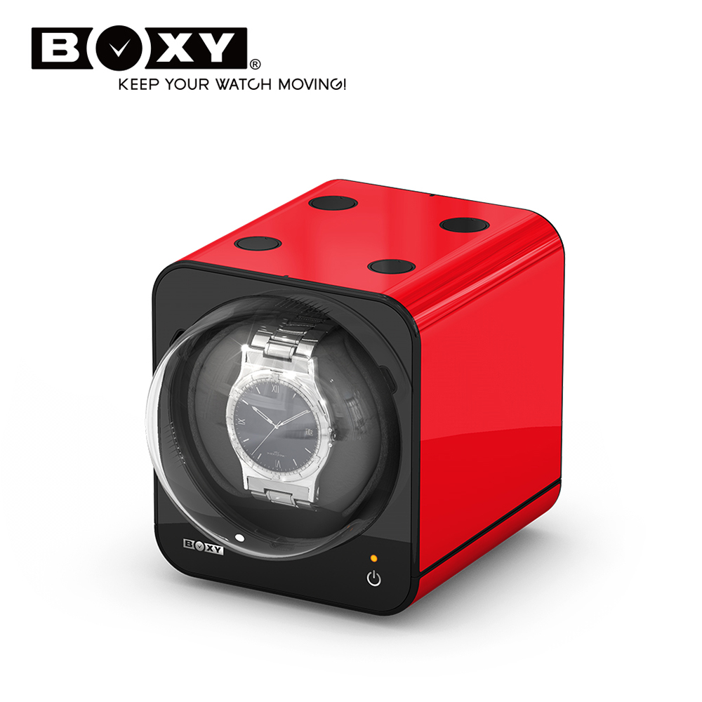 BOXY自動錶機械錶上鍊盒 Fancy Brick-不含變壓器 winder  動力儲存盒