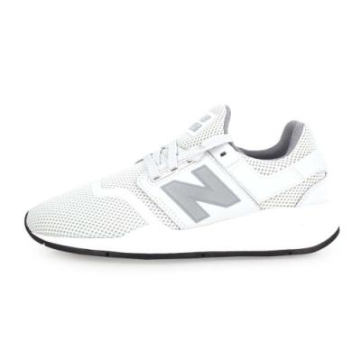 NEWBALANCE 247系列 女休閒慢跑鞋-路跑 NB N字鞋 淺灰