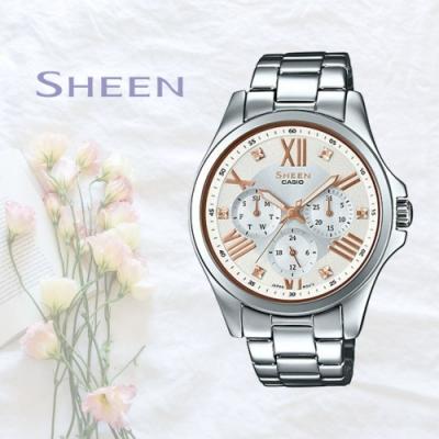 CASIO卡西歐 簡單俐落腕錶(SHE-3806D-7B)