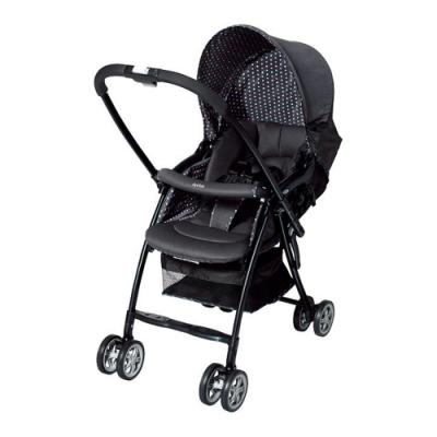 【Aprica】 超輕量Karoon嬰幼兒手推車 (高雅黑)