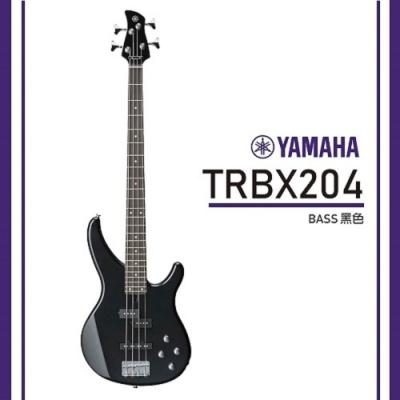 Yamaha TRBX204/電貝斯/公司貨保固/ 黑色