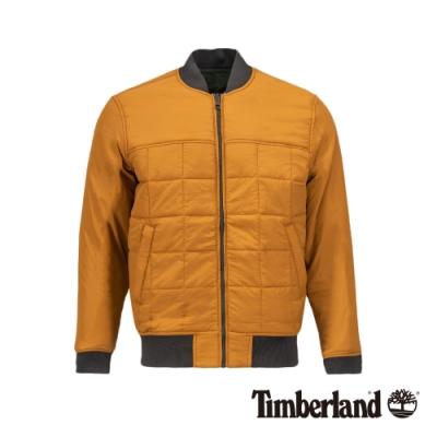 Timberland 男款小麥色輕質棉飛行員夾克|A21CF