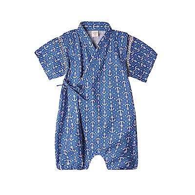 baby童衣 和服 寶寶日本包屁衣 夏日麻料清涼 42122
