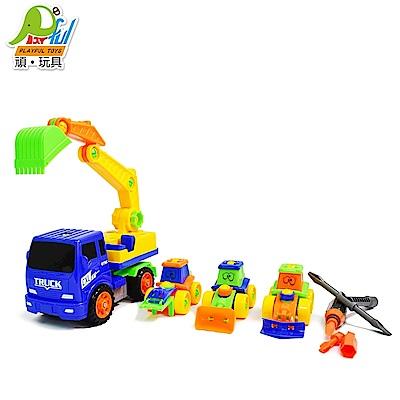 Playful Toys 頑玩具 自裝工程車