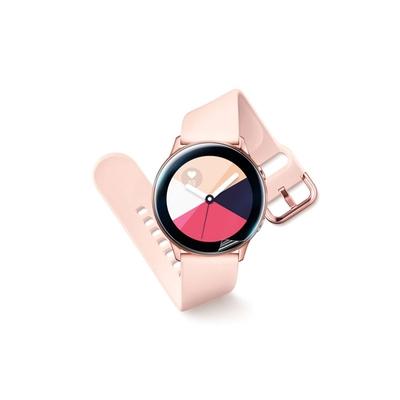 o-one小螢膜 三星Samsung Galaxy Watch Active 手錶保護貼兩入組 犀牛皮防護膜 抗衝擊自動修復