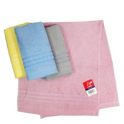 (12入) 素色毛巾-1093/橫彩檔毛巾-1098