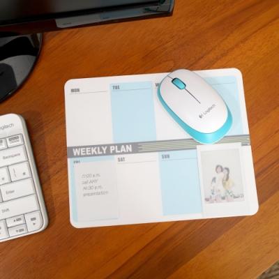 歐士OSHI Lpad 收心滑鼠墊 - 週計畫(藍)