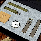KERBHOLZ-原木手錶-ANTON聖誕禮盒組-男性/中性