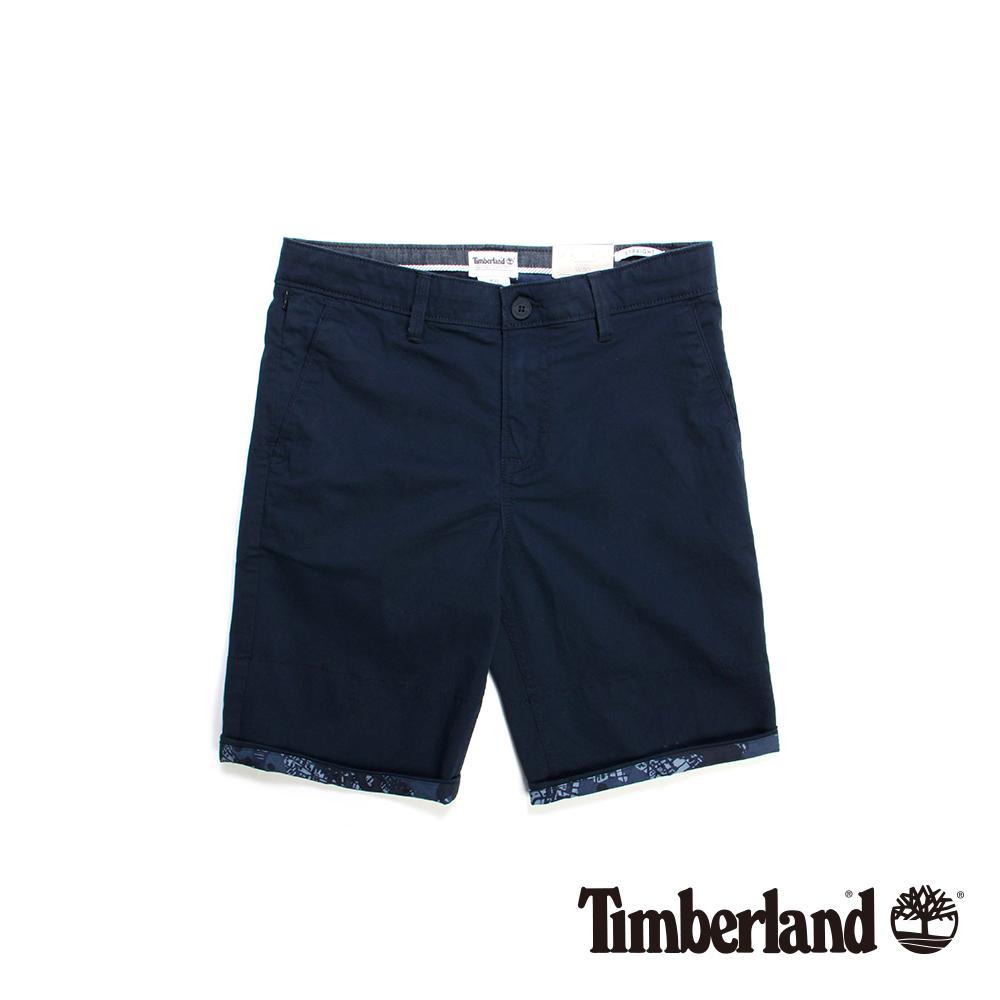 Timberland 男款深藍色Squam Lake Chino短褲