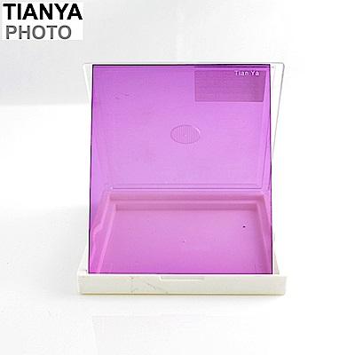 Tianya天涯80全紫色ND減光鏡紫色濾鏡(相容法國Cokin高堅P系列P方形ND濾鏡片P系統P型)方型ND減光鏡方形ND濾鏡片