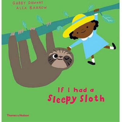 If I had A Sleepy Sloth 如果我是一隻樹懶精裝繪本