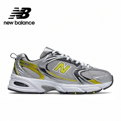 【New Balance】復古運動鞋_中性_銀黃配色_MR530SC-D楦