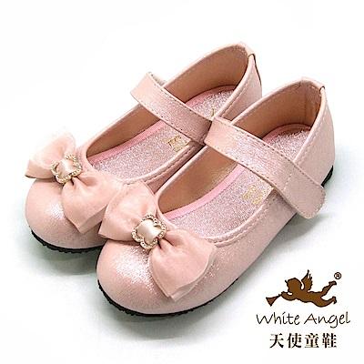天使童鞋 心戀心古典公主鞋(中-大童)917-粉