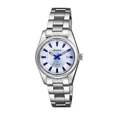LICORNE 力抗錶 都會款 簡約風格手錶 白 times 藍 times 銀 29mm