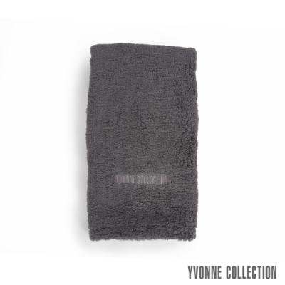 Yvonne Collection 棉柔長毛巾-石墨灰