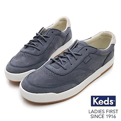 Keds MATCH PIONT 經典復刻牛巴戈休閒鞋-藍色