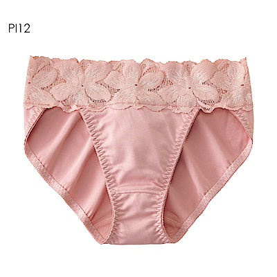 aimerfeel 花卉蕾絲淑女內褲-珊瑚粉紅-958321-PI12