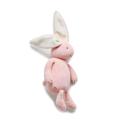 澳洲Purebaby有機棉嬰兒安撫玩偶-搖鈴
