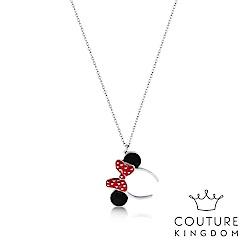 Disney Jewellery by Couture Kingdom米妮水晶鍍白金項鍊